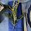 Thumbnail: 6 servilletas azules con vainica , algodón