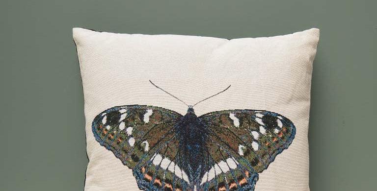 Cojín mariposa