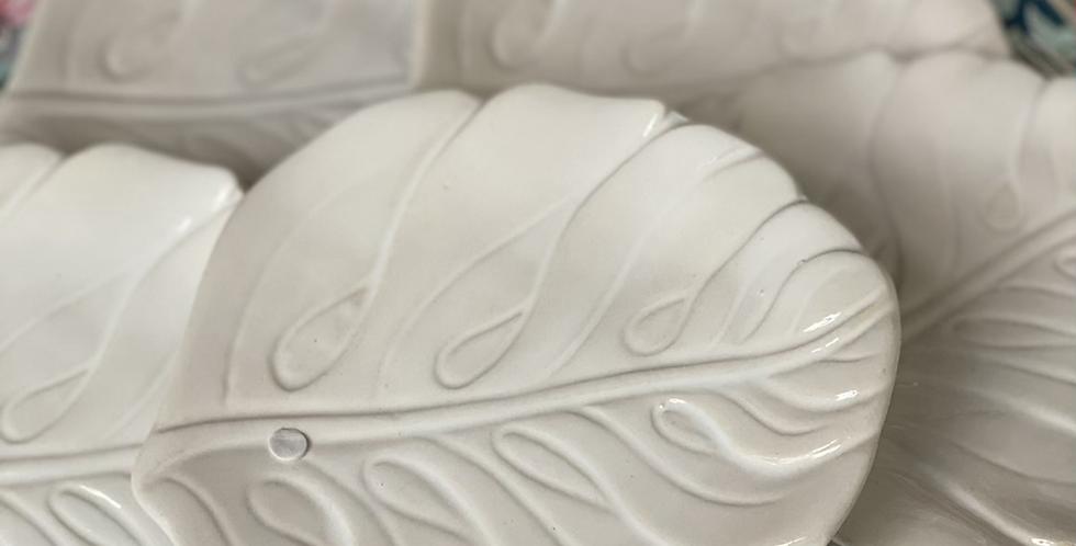 6 platito  cerámica nueva 15 '5 cm