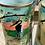 Thumbnail: Juego de 6 vasos con jarra Vintage , pintado a mano