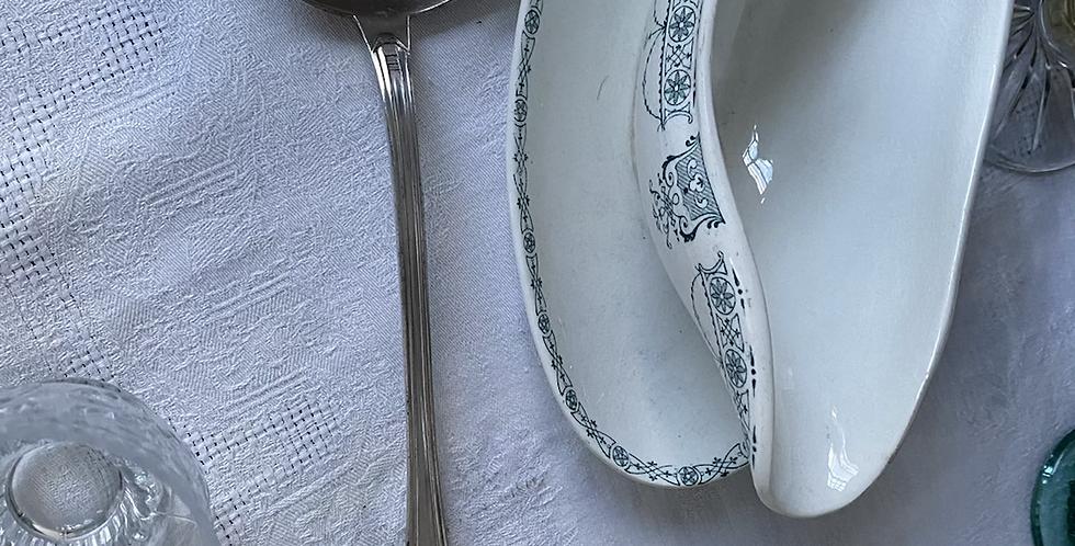 Cucharón baño de plata francés