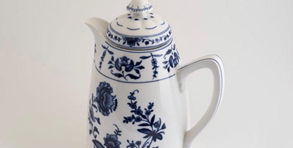 Termo porcelana azul y blanca