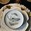 Thumbnail: Colección de 8 platos , porcelana alemana , 18 cm