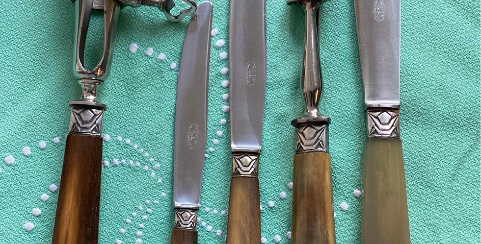 Caja de cuchillos, 27 piezas