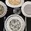 Thumbnail: Nueva colección Cofre con 4 platos Gien 23 cm