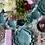 Thumbnail: Plato hoja turquesa 20 cm