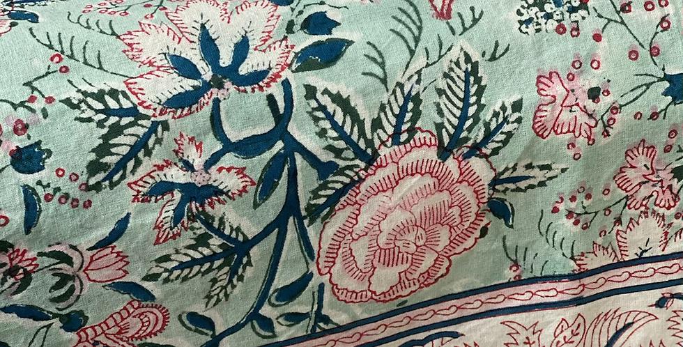 Mantel indio rosa 270 x1,80 cm