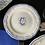 """Thumbnail: Plato """" canape"""" 16, 5 cm con monograma C, cerámica de Gien"""
