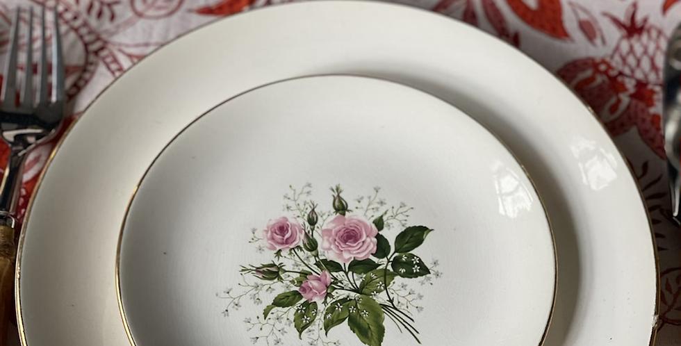 Set de 12 platos, porcelana de Nueva Zelanda