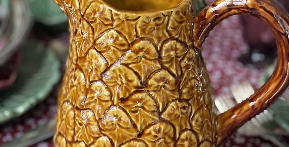 Jarra piña, cerámica portuguesa 1,5 litros