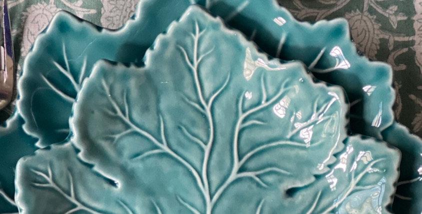 Plato llano cerámica portuguesa