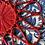 Thumbnail: 6 salvamanteles rattan rojo 38 cm
