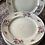 Thumbnail: 6 platos flores 20 cm, porcelana de Bavaria