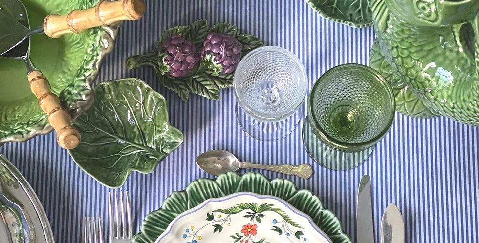 4 platos Design Joseph Olery, crerámica de Gien