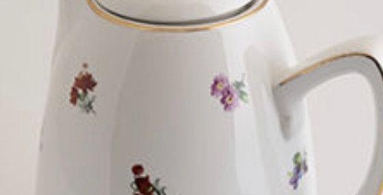 Termo porcelana flor