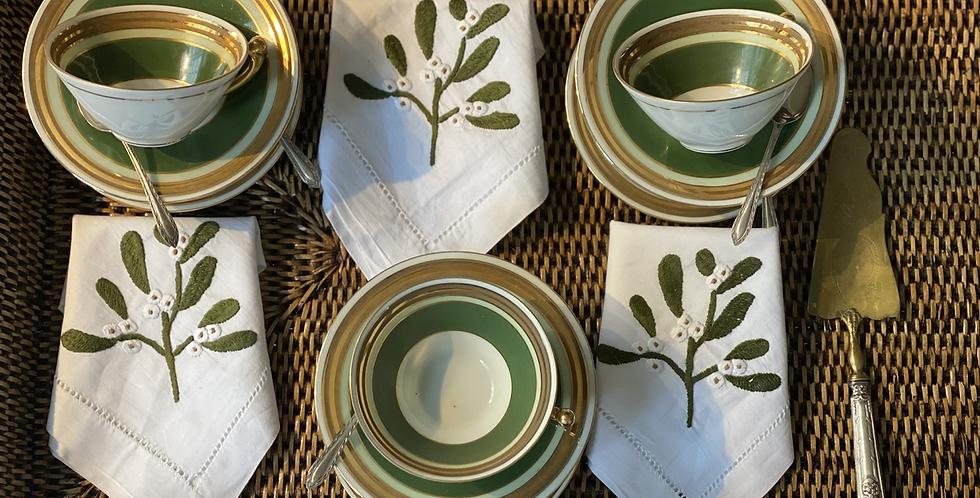 6 tazas de té Limoges