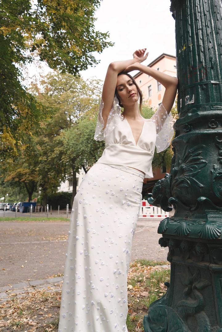 Angelika Top, Rock my heart Skirt, Head over heel Headband