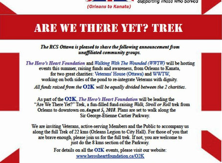 """RESCHEDULED for 22 September 2018.         5 August 2018: """"Are We There Yet?"""" Trek to bene"""
