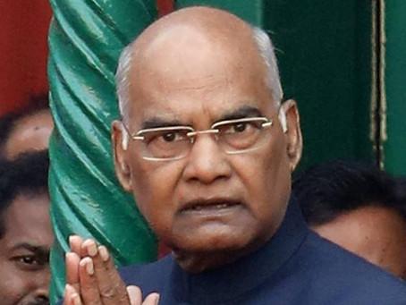President Ram Nath Kovind to inaugurate Andhra Pradesh Fibre Grid on Wednesday