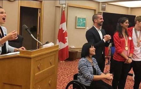 Canada's Parliamentarians Celebrate Team Canada 2018 Commonwealth Games Team