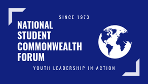 """48th National Student Commonwealth Forum, """"Sustainable Communities"""" May 2-8 postponed till May 2021."""