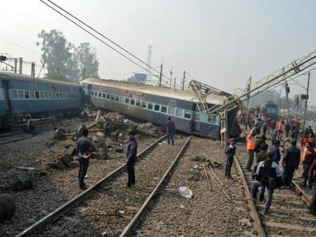 Indian train derails injuring 61; latest crash to raise concern