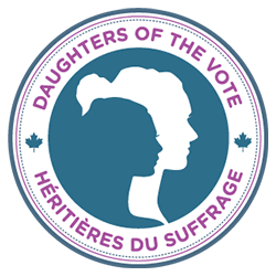 MARKING A CENTURY OF WOMEN'S SUFFRAGE IN CANADA.