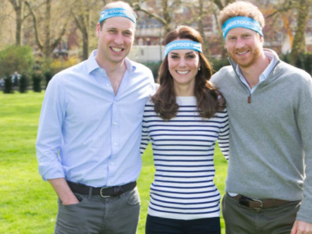 The Cambridges and Prince Harry trademark Twitter Hashtag
