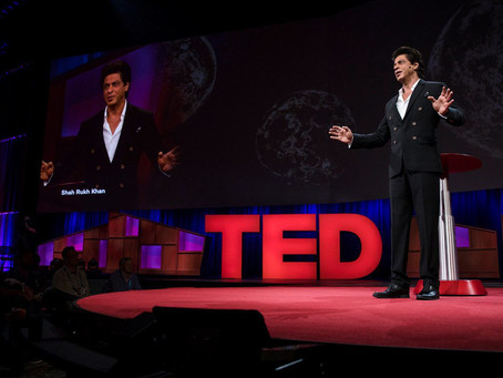 The world's most famous man gave a TED talk and many in the audience didn't know who he was
