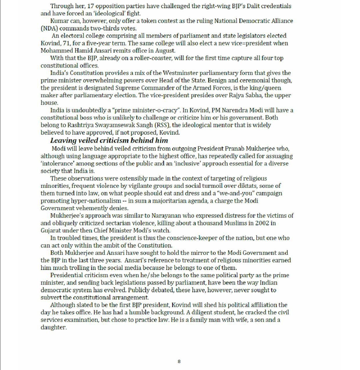 July 2018 Commonwealth Observer 8