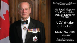 Special tribute to His Royal Highness Prince Philip, Duke of Edinburgh.  - May 1, 2021 11am EST