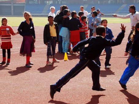 #sport as a vehicle for peace and development