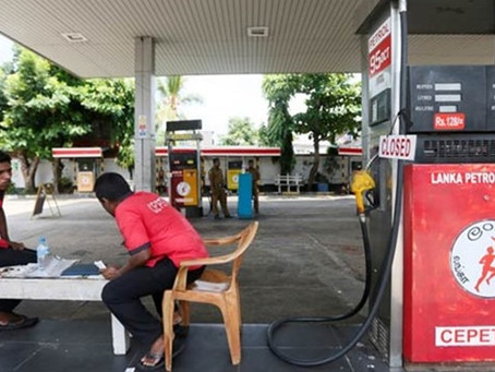 Sri Lanka's oil firm workers strike over India deal