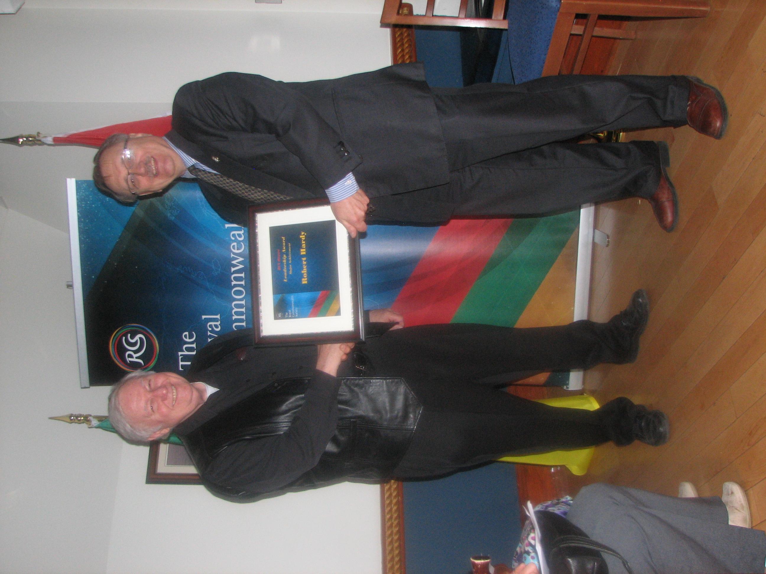 Award Bob Hardy
