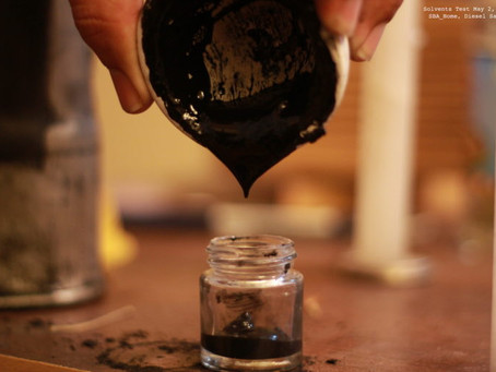 Converting Air Pollution into Inks and Pigments for Artists