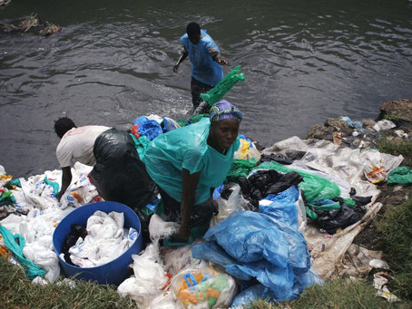Carrying a plastic bag in Kenya is now punishable with jail time