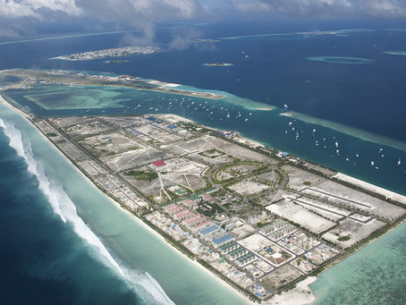 On front line of climate change as Maldives fights rising seas