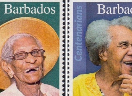 Barbados Celebrates Centenarian Citizens by Printing Their Portraits on Postal Stamps
