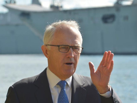 PM Malcolm Turnbull commits to exporting coal, uranium and renewables to India