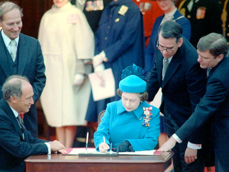 OTD, Canada's Constitution proclamation was signed