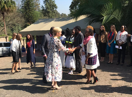 HRH The Countess of Wessex in Kenya