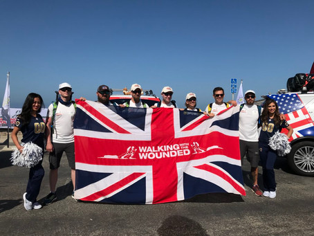 Prince Harry's Walking With The Wounded's Day 1