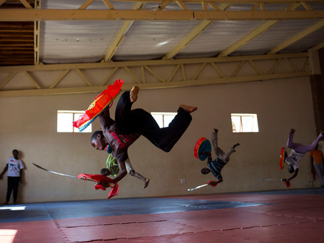 African orphans learn Mandarin, Buddhism and kung fu