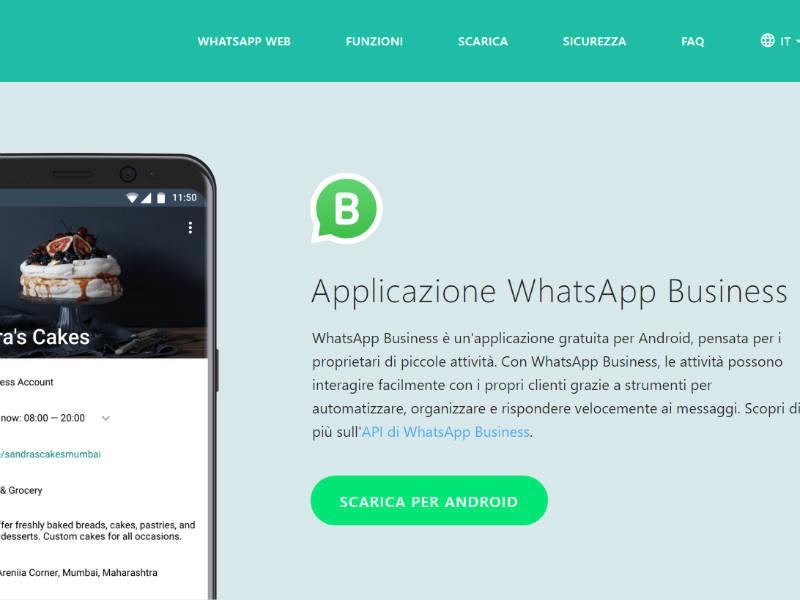 Cos'è whatsapp business_IMPAPCS
