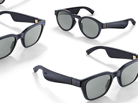 Frames: speaker e microfono negli occhiali da sole