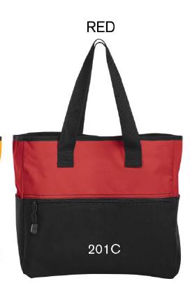 Red/Black Tote Bag