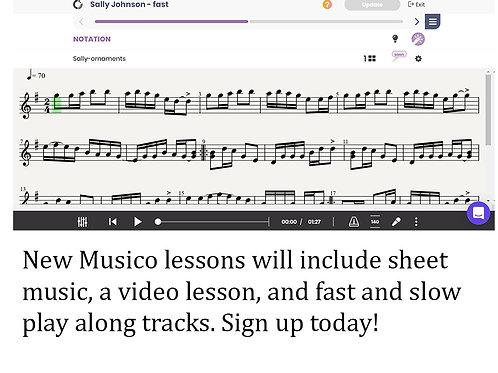 Musico Subscription