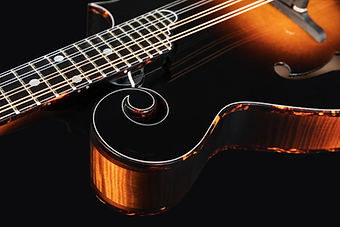 Mandolin isolated on black background. Music concept..jpg