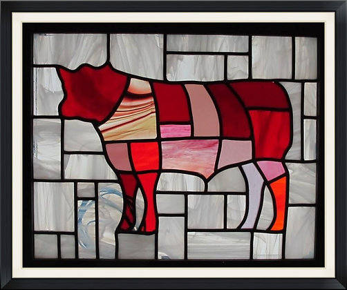 Cow (465mm x 385mm / 18.3' x 15.2')