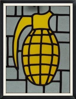 Kaboom Yellow (267mm x 230mm / 10.5' x 9')